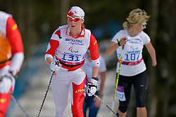 GORBOUNOVA Margarita Guide: BUNDON Andrea competing in the Nordic Skiing XC Long Distance at the 2014 Sochi Winter Paralympic Games, Russia