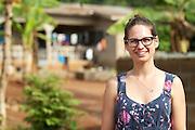 VSO volunteer Lizzie Trotter