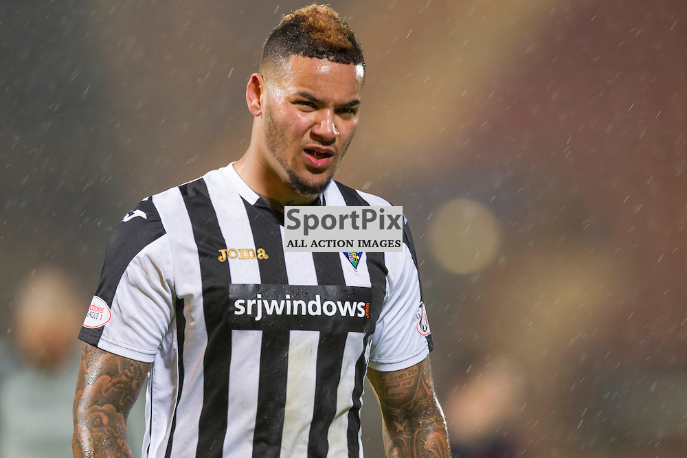 Dunfermline Athletic v Airdrieonians SPFL League One Season 2015/16 East End Park 29 January 2016<br />Ben Richards Everton Dejected at full time<br />CRAIG BROWN | sportPix.org.uk