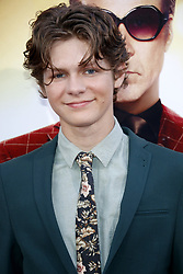 Ty Simpkins at the Los Angeles premiere of 'The House' held at the TCL Chinese Theatre in Hollywood, USA on June 26, 2017.