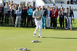 23.06.2015, Golfclub M&uuml;nchen Eichenried, Muenchen, GER, BMW International Golf Open, Show Event, im Bild Die Spieler muessen versuchen mit einem Modellauto den Golfball einzulochen, Maximilian Kieffer (GER) // during the Show Event of BMW International Golf Open at the Golfclub M&uuml;nchen Eichenried in Muenchen, Germany on 2015/06/23. EXPA Pictures &copy; 2015, PhotoCredit: EXPA/ Eibner-Pressefoto/ Kolbert<br /> <br /> *****ATTENTION - OUT of GER*****