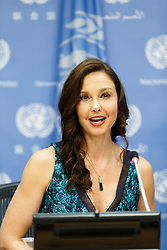 American actress Ashley Judd attends a press conference on her appointment as the United Nations Population Fund's (UNFPA) new Goodwill Ambassador, at the UN headquarters in New York, March 15, 2016. EXPA Pictures © 2016, PhotoCredit: EXPA/ Photoshot/ Li Muzi<br /> <br /> *****ATTENTION - for AUT, SLO, CRO, SRB, BIH, MAZ, SUI only*****