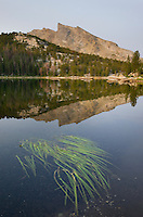 Clear Lake, Bridger Wilderness in the Wind River Range of the Wyoming Rocky Mountains