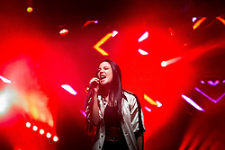 © Licensed to London News Pictures . 26/08/2016 . Manchester , UK . TULISA performs on the main stage in Manchester's Gay Village for 2016 Manchester Gay Pride Big Weekend . Photo credit : Joel Goodman/LNP