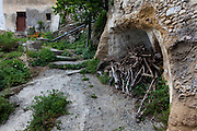 """Firewood, in the ancient Hellenic city of Polyrinia, Crete. The place name means """"many sheep"""" and it was the most fortified city in ancient Crete."""