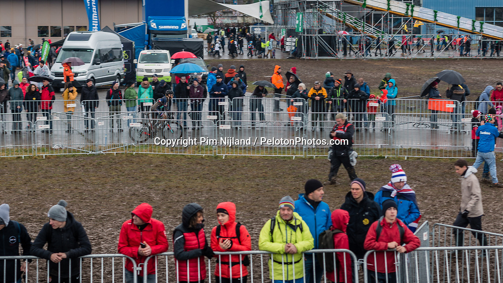Women Under 23 race, 2020 UCI Cyclo-cross Worlds Dübendorf, Switzerland, 2 February 2020. Photo by Pim Nijland / Peloton Photos | All photos usage must carry mandatory copyright credit (Peloton Photos | Pim Nijland)