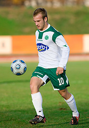 Enes Rujovic of Olimpija  at 18th Round of PrvaLiga football match between NK Olimpija and NK Labod Drava, on November 21, 2009, in ZAK, Ljubljana, Slovenia. Olimpija defeated Drava 3:0. (Photo by Vid Ponikvar / Sportida)