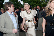 ROISIN MURPHY; SIMON HENWOOD, 2009 Serpentine Gallery Summer party. Sponsored by Canvas TV. Serpentine Gallery Pavilion designed by Kazuyo Sejima and Ryue Nishizawa of SANAA. Kensington Gdns. London. 9 July 2009.