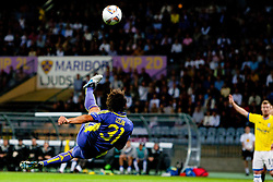 Zoran Lesjak of NK Maribor at 2nd Round of Europe League football match between NK Maribor (Slovenia) and Birmingham City (England), on September 29, 2011, in Maribor, Slovenia.  (Photo by Urban Urbanc / Sportida)