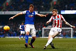 James McClean of Stoke City crosses the ball - Mandatory by-line: Phil Chaplin/JMP - 16/02/2019 - FOOTBALL - Portman Road - Ipswich, England - Ipswich Town v Stoke City - Sky Bet Championship