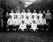 The Ireland rugby team who played South Africa in Lansdowne Road: Tom Kiernan (Capt.), ATA Duggan, Barry Bresnihan, Mike Gibson, WJ Brown, Barry McGann, RM Young, Syd Millar, Ken Kennedy, P O'Callaghan, Eric Campbell, Willie John McBride, Ronnie Lamont, K G Goodall, Fergus Slattery. The Game ended in an 8-8 draw. <br />