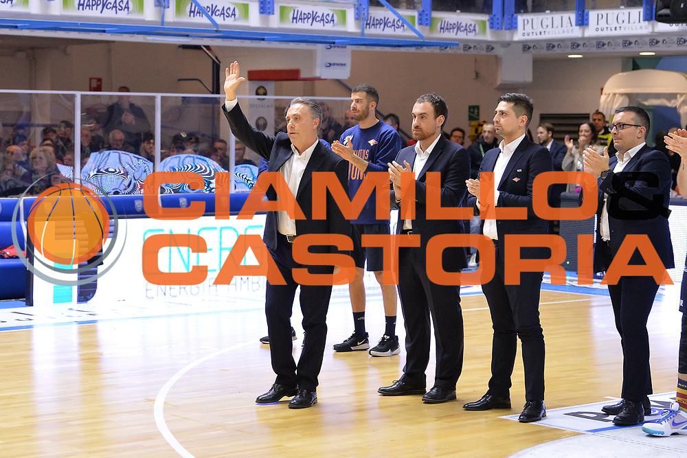 Bucchi Piero, <br /> Happy Casa Brindisi - Virtus Roma<br /> Legabasket SerieA  2019-2020<br /> Brindisi 19/01/2020<br /> Foto: Ciamillo-Castoria / Michele Longo