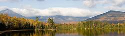 Mount Katahdin Lake as seen from Maine's Katahdin Lake