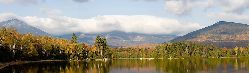 Mount Katahdin Lake as seen from Maine's Katahdin Lake