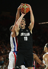Spain-Basketball, FIBA World Cup, New Zealand v Dominican Republic