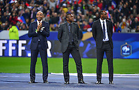 Thierry HENRY / Marcel DESAILLY / Patrick VIEIRA  - 26.03.2015 - France / Bresil - Match Amical<br />
