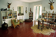Image of Ernest Hemingway's writing desk and studio at the Ernest Hemingway Home & Museum in Key West, Florida, American Southeast