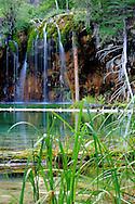 Hanging Lake waterfall, Glenwood Canyon, CO.