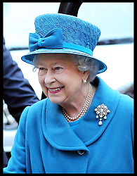 The Queen arriving at the Royal Commonwealth Society in London, Wednesday, 14th November 2102.  Photo by: Stephen Lock / i-Images