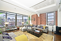 Living Room at 135 West 3rd Street
