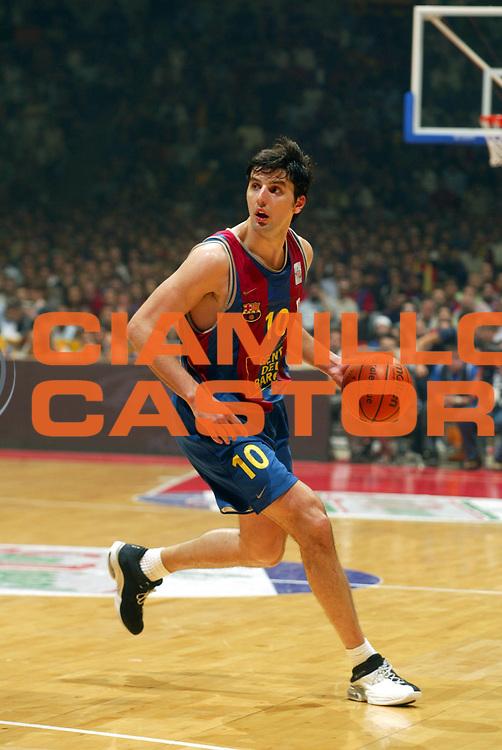 DESCRIZIONE : BARCELLONA BARCELONA FINAL FOUR EUROLEAGUE EUROLEGA 2003 FINAL FINALE GIOCATORE : BODIROGA SQUADRA : FC BARCELONA DATA : 2010-01-06CATEGORIA : SPORT :  AUTORE : AGENZIA CIAMILLO & CASTORIA/G.Ciamillo