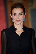 103014 Spanish Royals Host a Reception For the President of Chile