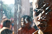 Young boy at the early morning thursday market in Maubisse. Timor-Leste @ Martine Perret
