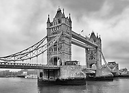 The Tower Bridge in London, England on May 22, 2012.