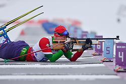 LOBAN Dzmitry, Biathlon at the 2014 Sochi Winter Paralympic Games, Russia