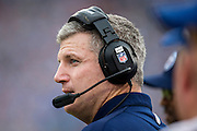 NASHVILLE, TN - SEPTEMBER 29:  Head Coach Mike Munchak of the Tennessee Titans on the sidelines during a game against the New York Jets at LP Field on September 29, 2013 in Nashville, Tennessee.  The Titans defeated the Jets 38-13.  (Photo by Wesley Hitt/Getty Images) *** Local Caption *** Mike Munchak