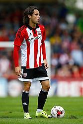 Jota of Brentford - Mandatory by-line: Jason Brown/JMP - Mobile 07966 386802 25/07/2015 - SPORT - FOOTBALL - Brentford, Griffin Park - Brentford v Stoke City - Pre-Season Friendly