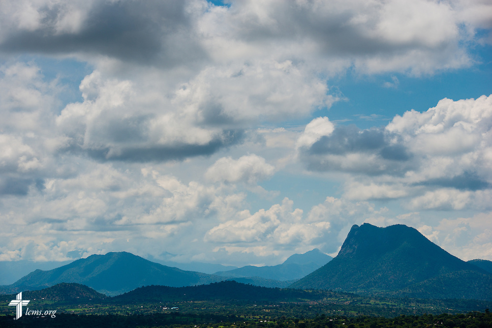The landscape on Thursday, June 23, 2016, looking over the area in Chepareria, Kenya.  LCMS Communications/Erik M. Lunsford