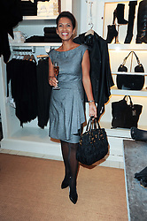 GINA MILLER at a ladies lunch at Ralph Laren, Westbourne Grove, London W11 hosted by Too Many Women in Support of Breakthrough Breast Cancer on 4th October 2010.