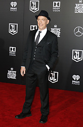 J.K. Simmons at the World premiere of 'Justice League' held at the Dolby Theatre in Hollywood, USA on November 13, 2017.