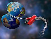 gas pump aaround earth