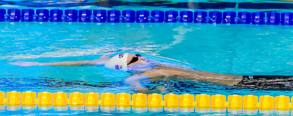 Backstroke<br /> 27th Summer Universiade <br /> 5 - 17 July 2013 Kazan Tatarstan Russia<br /> Day 10 Swimming Heats<br /> Photo G. Scala/Insidefoto/Deepbluemedia.eu