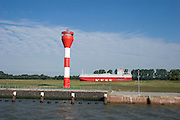 Bulk Feeder entering Elbe from Nord-Ostsee-Kanal.