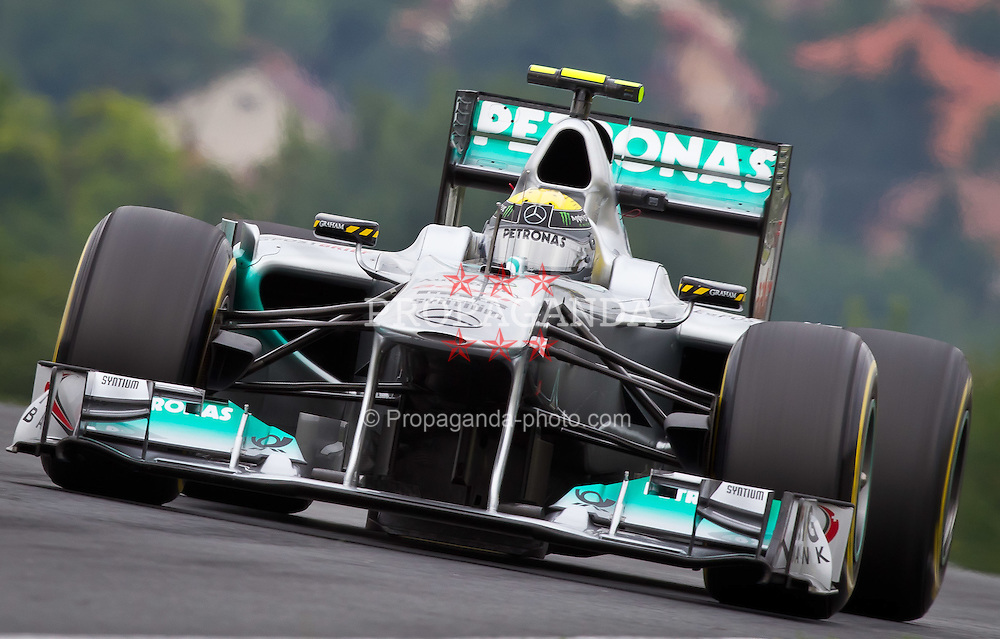 29.07.2011, Hungaroring, Budapest, HUN, F1, Grosser Preis von Ungarn, Hungaroring, im Bild Nico Rosberg (GER), Mercedes GP Petronas F1 Team // during the Formula One Championships 2011 Hungarian Grand Prix held at the Hungaroring, near Budapest, Hungary, 2011-07-29, EXPA Pictures © 2011, PhotoCredit: EXPA/ J. Feichter