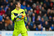 Crewe Alexandra goalkeeper Ben Garratt during the Sky Bet League 1 match between Chesterfield and Crewe Alexandra at the Proact stadium, Chesterfield, England on 20 February 2016. Photo by Aaron Lupton.