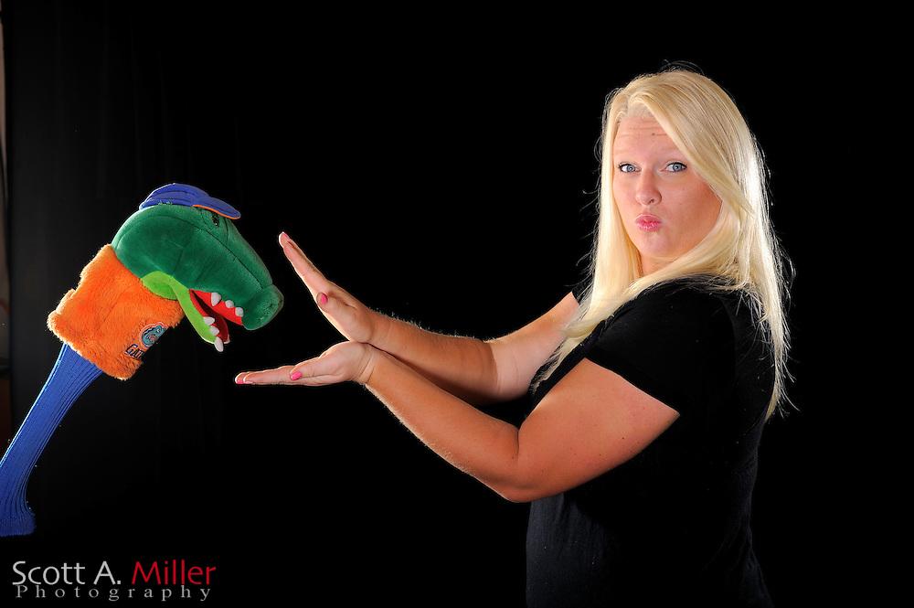 Whitney Myers during a portrait shoot prior to the LPGA Futures Tour's Daytona Beach Invitational at LPGA International's Championship Courser on March 29, 2011 in Daytona Beach, Florida... ©2011 Scott A. Miller