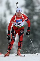 Stian Eckhoff (NOR) at Men 20 km Individual at E.ON Ruhrgas IBU World Cup Biathlon in Hochfilzen (replacement Pokljuka), on December 18, 2008, in Hochfilzen, Austria. (Photo by Vid Ponikvar / Sportida)