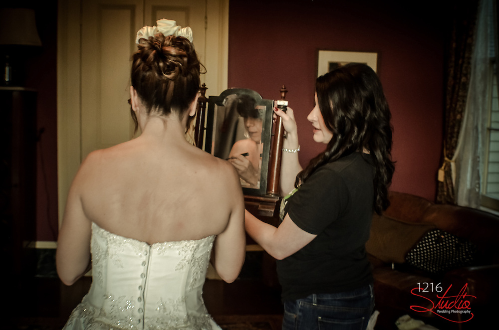 Getting Ready before the wedding | New Orleans Wedding Photography | 1216 STUDIO LLC Wedding Photographer | Including Wedding Venues, makeup artist, and more
