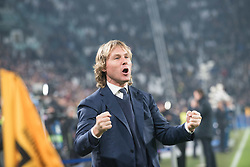 November 22, 2017 - Turin, Piemonte/Torino, Italy - Pavel Nedved (Juventus FC) during the Champions League mathc: Juventus FC vs Barcellona FC at the Juventus Stadium. The final scorre is 0-0 Turin, Italy 22th November 2017  (Credit Image: © Alberto Gandolfo/Pacific Press via ZUMA Wire)