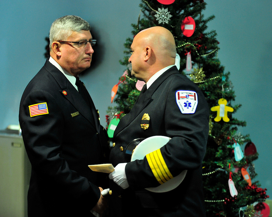 """Funeral services with for Upper Macungie Township Fire Marshal Samir """"Sam"""" Ashmar, 51 were held on November 25th, 2014, in Allentown, Pa. Ashmar died on November 20th in the line of duty following an emergency call. (Chris Post 