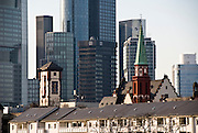 Skyline of Frankfurt am Main, Hessen, Germany