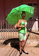 Woman in Quivican, Mayabeque, Cuba.