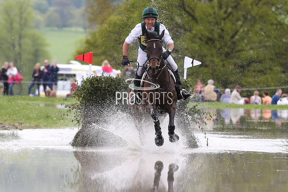 Dan Jocelyn (NZL) on Duke of Champions during the International Horse Trials at Chatsworth, Bakewell, United Kingdom on 12 May 2018. Picture by George Franks.