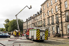 New Town Fire | Edinburgh | 28 August 2017