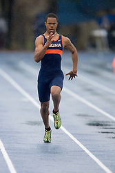 Virginia Cavaliers Brian Lee won his heat to place fifth in the men's 200m dash.  The Virginia Cavaliers Track and Field team hosted the 2007 Lou Onesty/Milton G. Abramson Invitation at Lannigan Field at the University of Virginia on April 14, 2007.