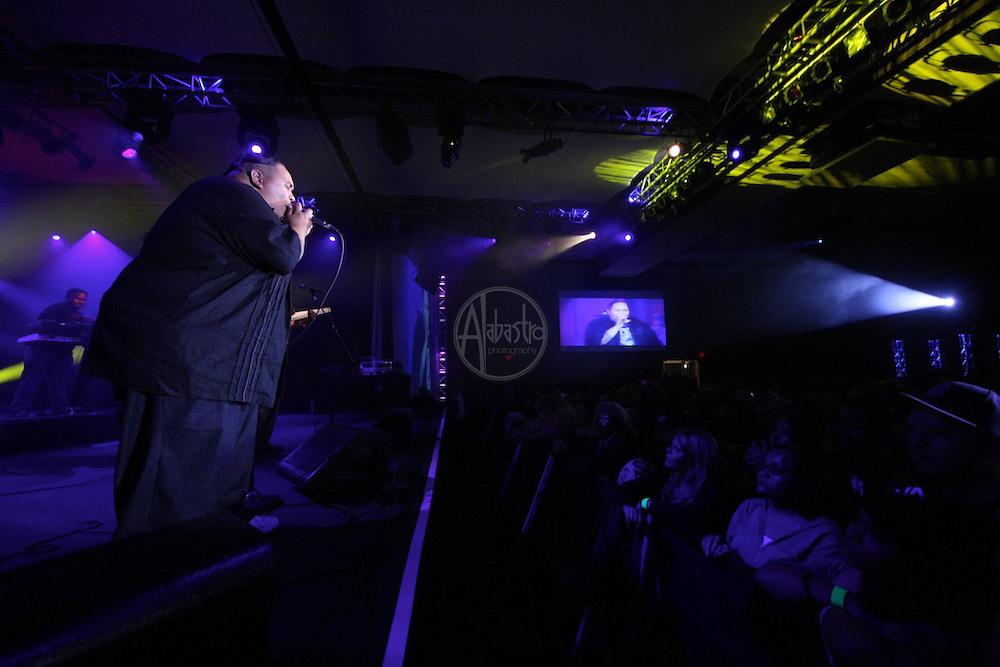 Ekolu performing at FallFest '11 at Snoqualmie Casino on October 29, 2011